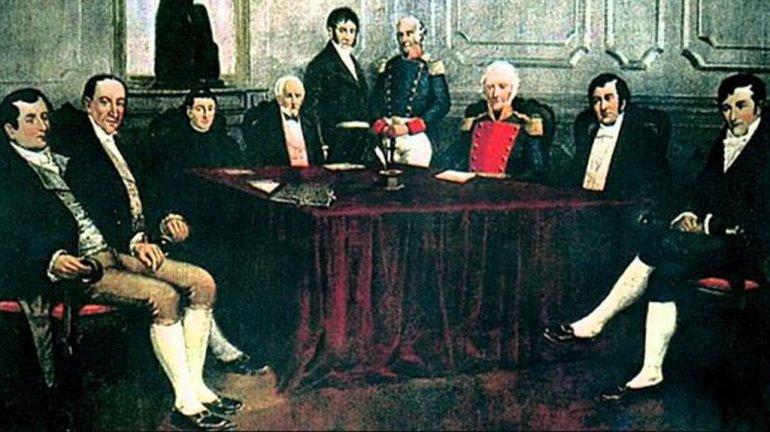 Los protagonistas del 25 de mayo de 1810