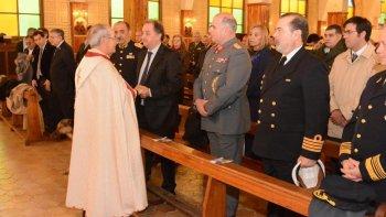 El Solemne Tedéum que encabezó ayer en la Catedral el obispo Joaquín Gimeno Lahoz.