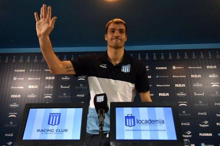 Sebastián Saja confirmó su partida de Racing