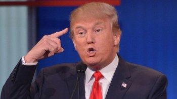 Me siento honrado, dijo Trump en una conferencia de prensa.
