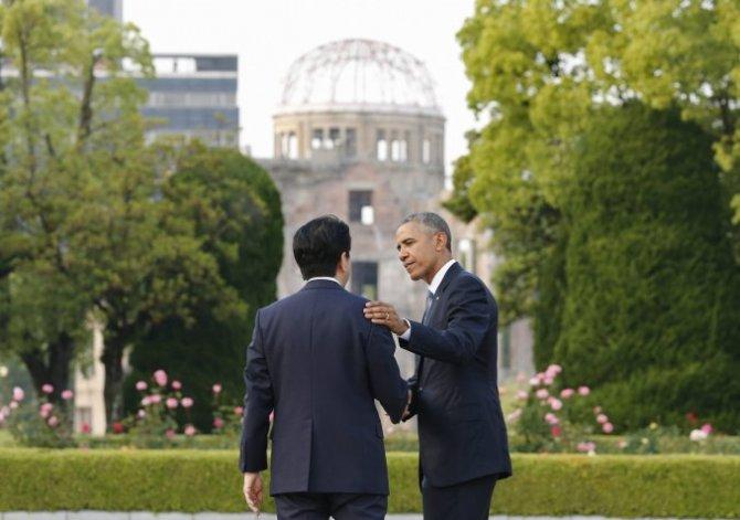 Obama, el primer presidente de EE.UU. en visitar Hiroshima