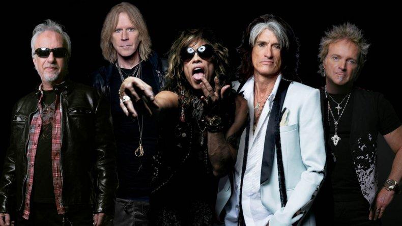 Aerosmith se despedirá de Argentina en el Estadio Único