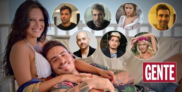 Los ocho famosos citados a declarar en la causa Fede Bal - Barbie Vélez