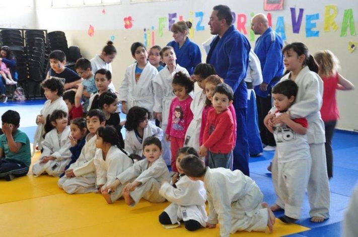 El judo infantil tiene su primer encuentro anual