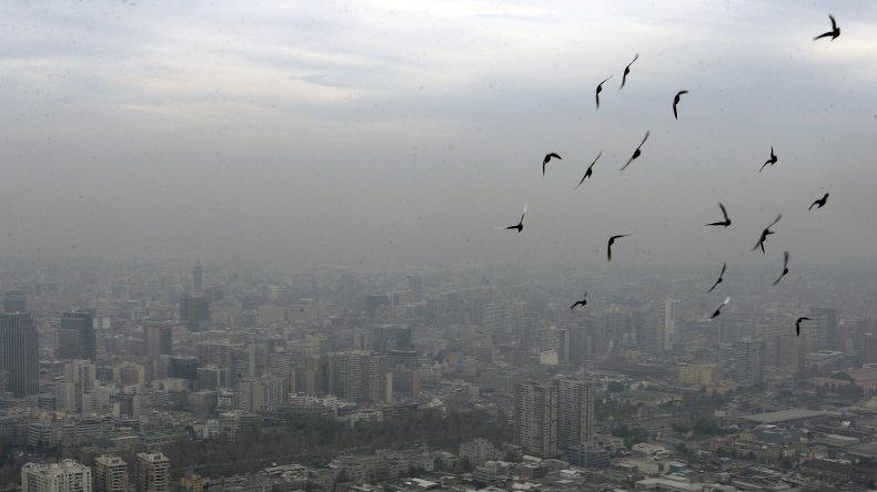 Alerta ambiental en Santiago de Chile por contaminación en el aire