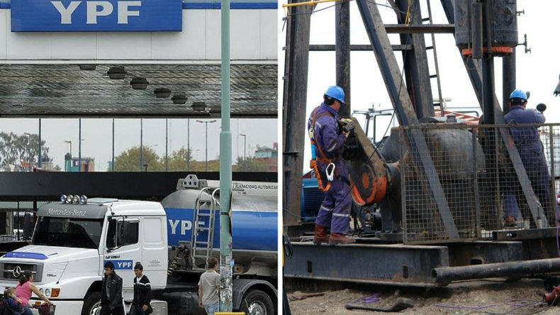 Petroleros y Camioneros paralizan toda la actividad en YPF