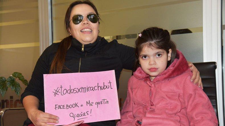 Carola Vera viene dando una larga batalla por la salud de su hija.