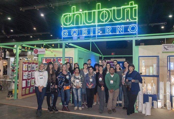 Participaron 18 emprendedores de Chubut en la Feria Puro Diseño