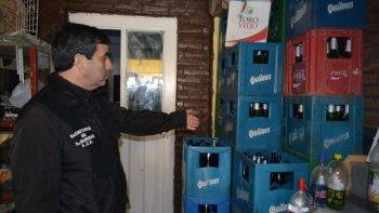 clausuraron un local por vender bebidas alcoholicas