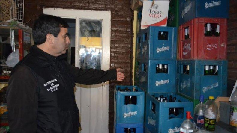 Clausuraron un local por vender bebidas alcohólicas