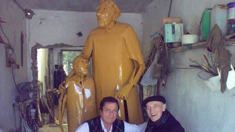 José Manuel Calico dejó un importante legado cultural para Comodoro Rivadavia.