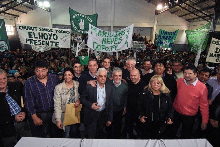 Chubut Somos Todos celebró en Esquel su encuentro partidario provincial con el gobernador Das Neves a la cabeza.