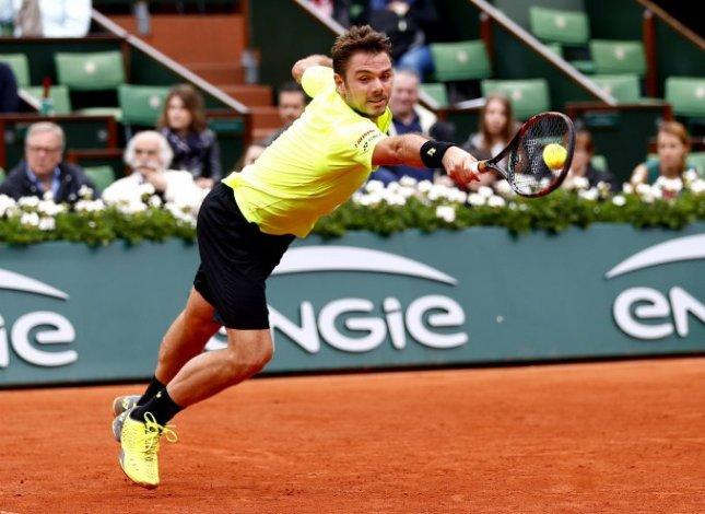 Wawrinka quiso distenderse y tuvo un gran gesto en Roland Garros