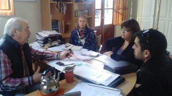 La secretaria de Cultura de la provincia, Viviana Almirón, se reunió este fin de semana con el titular de Cultura de Comodoro, Daniel Vleminchx.