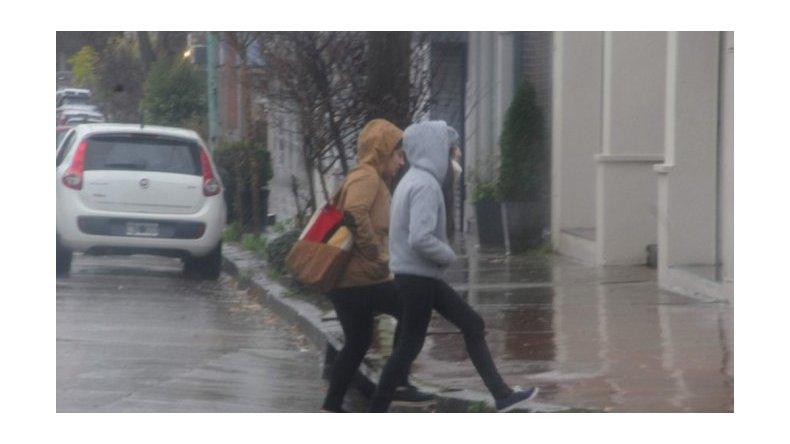 Suspendieron las clases en Mar del Plata por un fuerte temporal