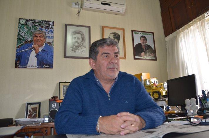 El dirigente sindical y diputado nacional
