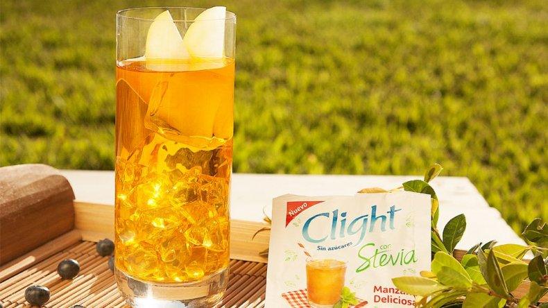 <i>Una opción para disfrutar. Clight Stevia rico, natural y liviano.</i>