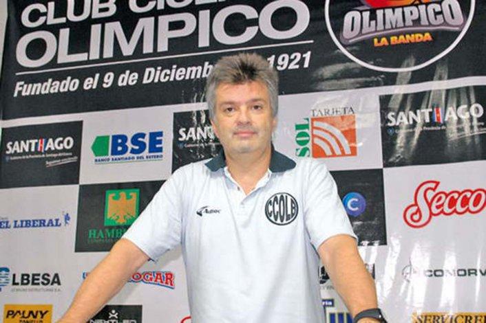 Fernando Duró dirige actualmente a Olímpico de La Banda en la Liga Nacional de Básquetbol.