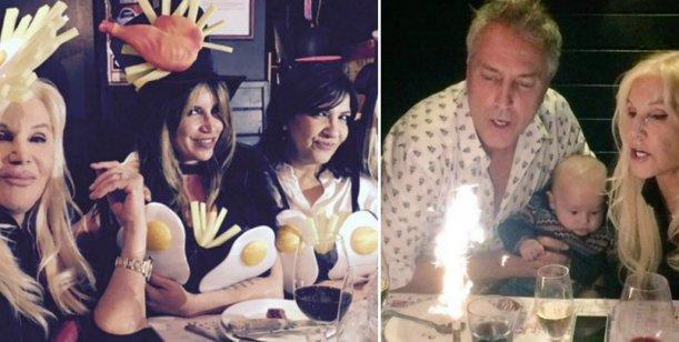 El divertido festejo de cumpleaños de Marley con Susana, Flor Peña, la Negra Vernaci y más