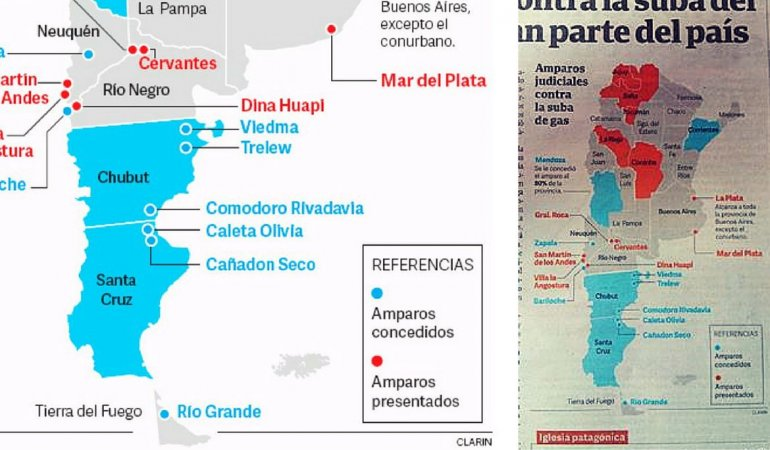 Increíble: Viedma ahora pertenece a Chubut