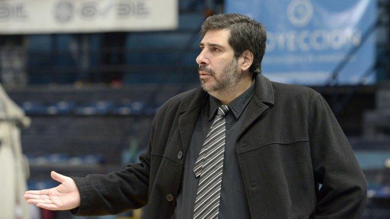 Gonzalo García admitió que el receso que tuvo Gimnasia Indalo por clasificar primero en la Conferencia Sur incidió de manera negativa.