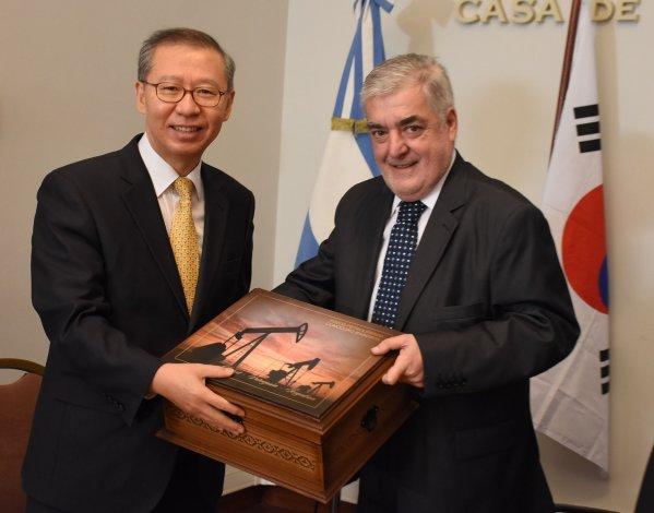 Das Neves recibió al embajador de Corea del Sur en Argentina