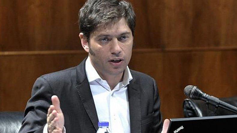 Kicillof cuestionó el informe del Gobierno sobre el Estado kirchnerista.