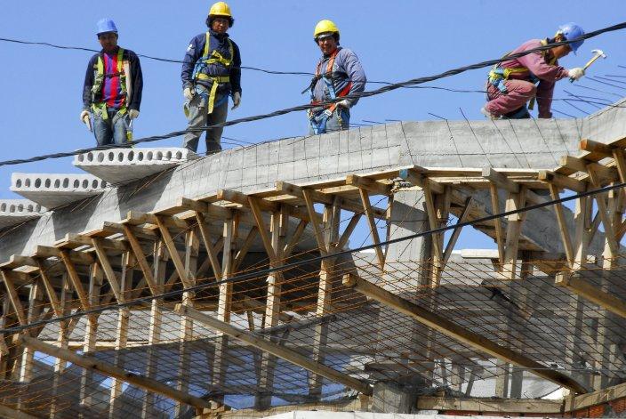 La construcción es uno de los gremios más afectados en la región por la caída del empleo.