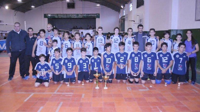 Choique y la Selección de Santa Cruz A, campeones del V Patagónico Sub-13