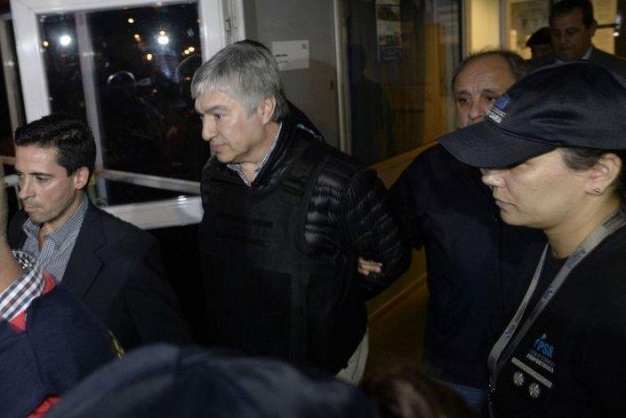 Lázaro Báez ya está en Comodoro Py para su declaración privada