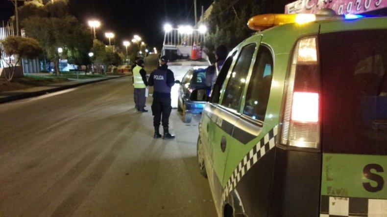 Controlaron 520 autos en Comodoro y no hubo alcoholemias positivas