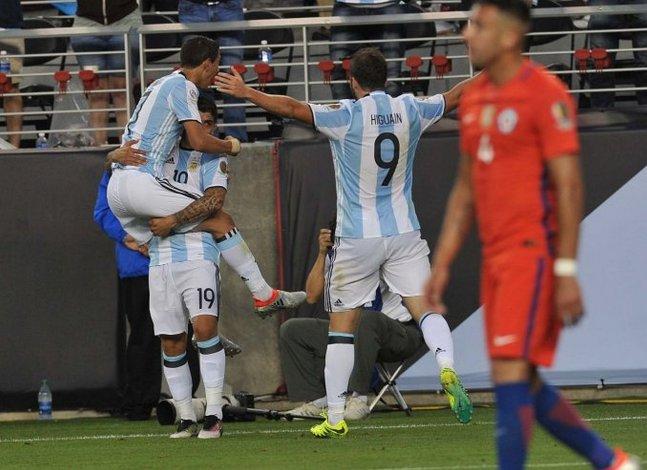 Reviví los goles de Di María y Banega