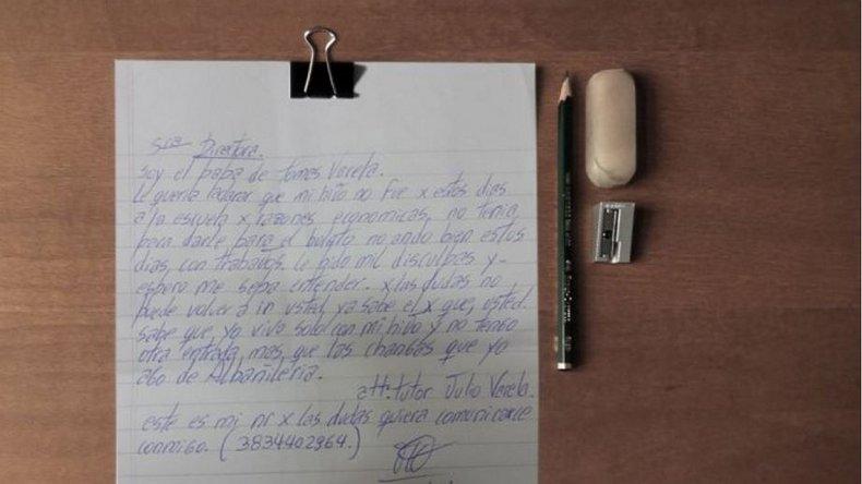 Le dieron boleto estudiantil luego de que el padre confesara:no tengo plata para el boleto de mi hijo