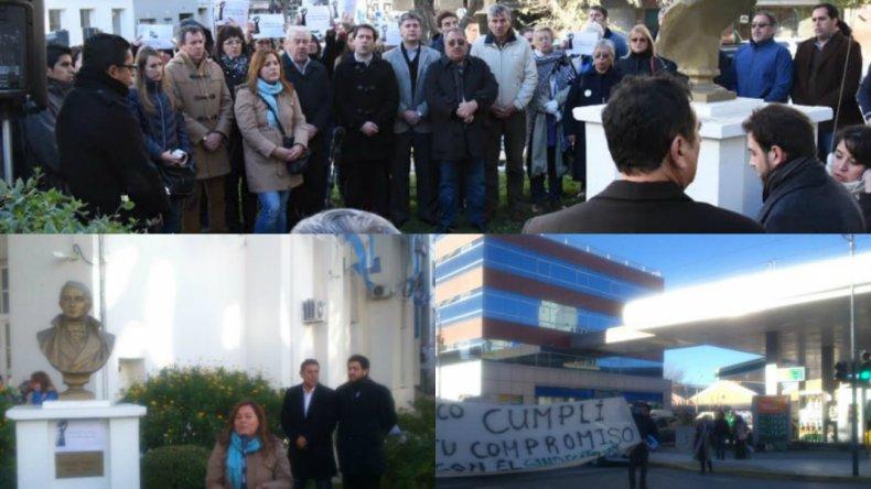 Periodistas celebraron su día con reclamos de zona y la sede del sindicato