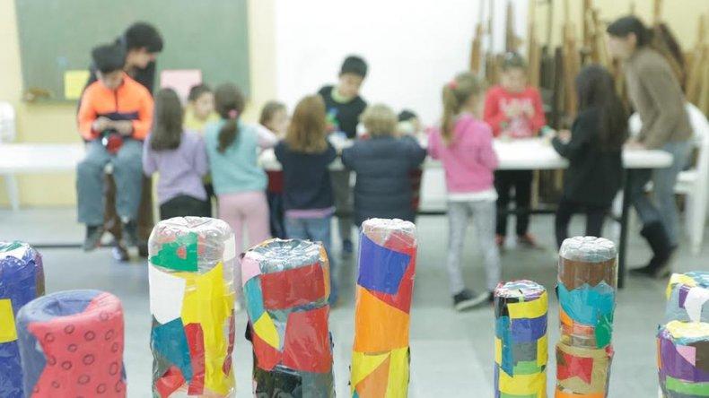 Dieron inicio los talleres de arte de junio en Rada Tilly