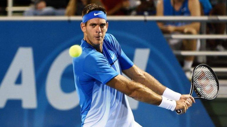 Del Potro jugará la Copa Davis en la serie ante Italia