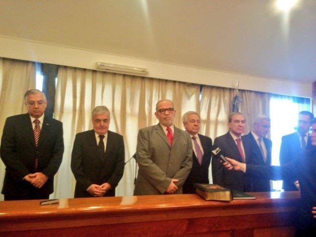 Asumieron como ministros del STJ Guinle, Donnet y Vivas