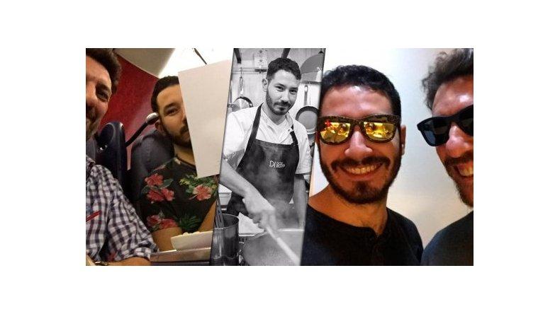 Tortonese se fue a Estados Unidos para probar suerte con su novio chef