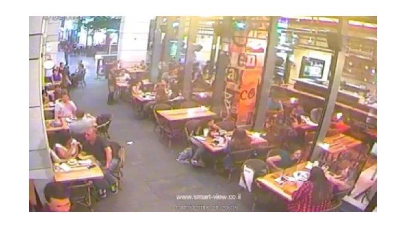 Así fue el ataque terrorista en un bar de Tel Aviv