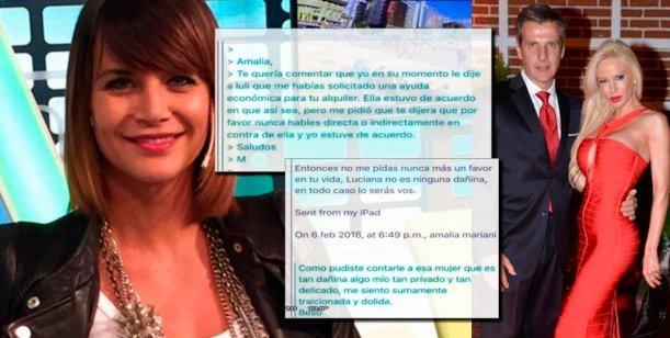 Luciana Salazar hackeó las cuentas de Redrado