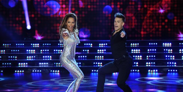 Iliana Calabró volvió con todo al Bailando