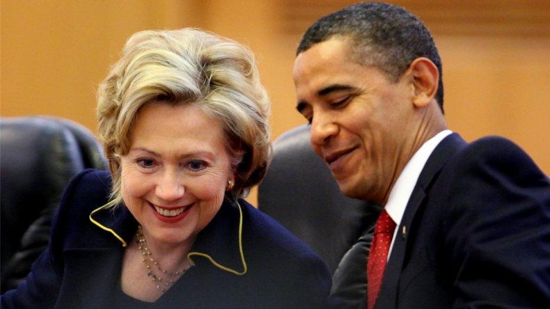 Obama manifestó su respaldo a Hillary Clinton