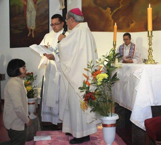 Una joven comodorense recibió los votos como religiosa para integrarse a las hermanas de María Auxiliadora.