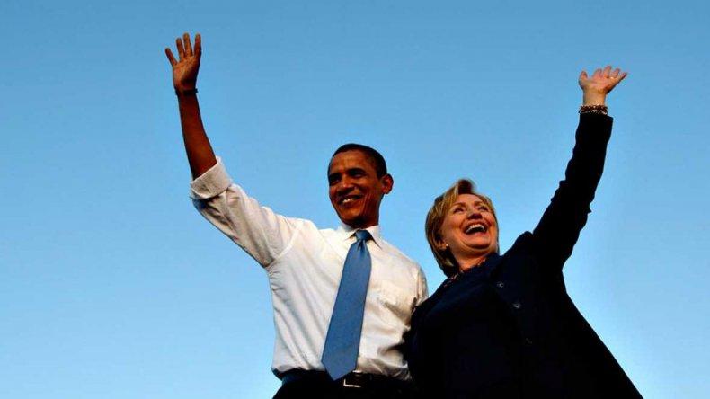 Obama anunció su apoyo a Clinton para las presidenciales en EE.UU.