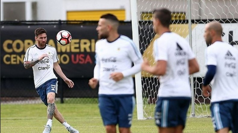 Así entrena la Selección para enfrentar a Panamá