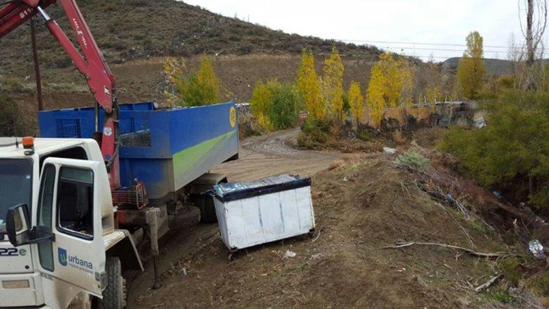 Ampliarán el servicio de recolección en el camino Roque González