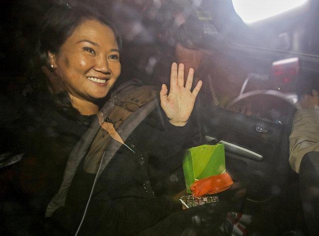 Keiko Fujimori reconoce su derrota en las elecciones del domingo en Perú.