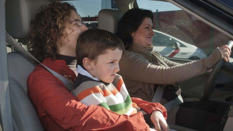 El 80% de los niños viaja de forma insegura en vehículos
