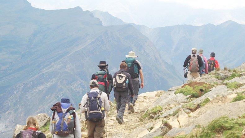 El trekking a las nubes es un viaje de fuertes sensaciones