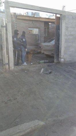 La Brigada de Investigaciones estuvo a cargo ayer de la detención de Diego Serrano en su casa del barrio San Cayetano.